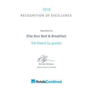 2018 - HotelsCombined - 9.6/10