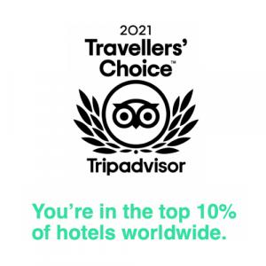 2021 - TripAdvisor - Travellers' Choice