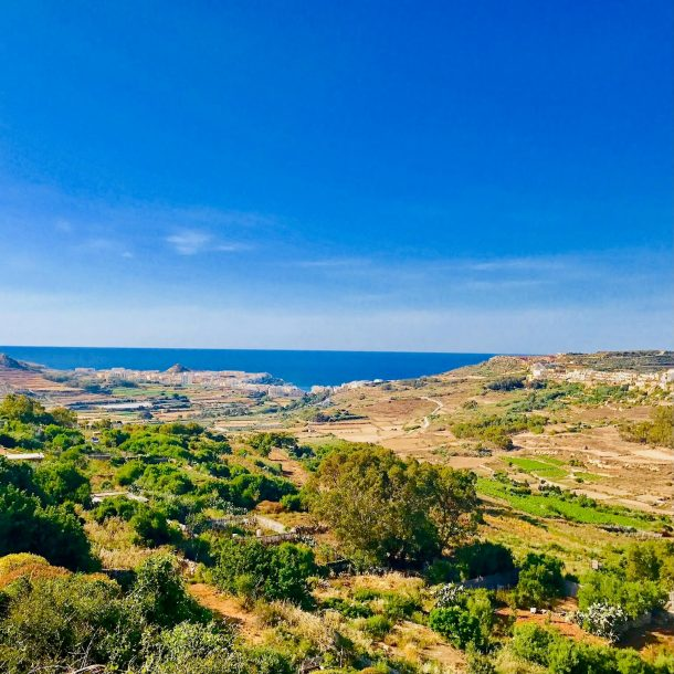 Valley and Sea Views
