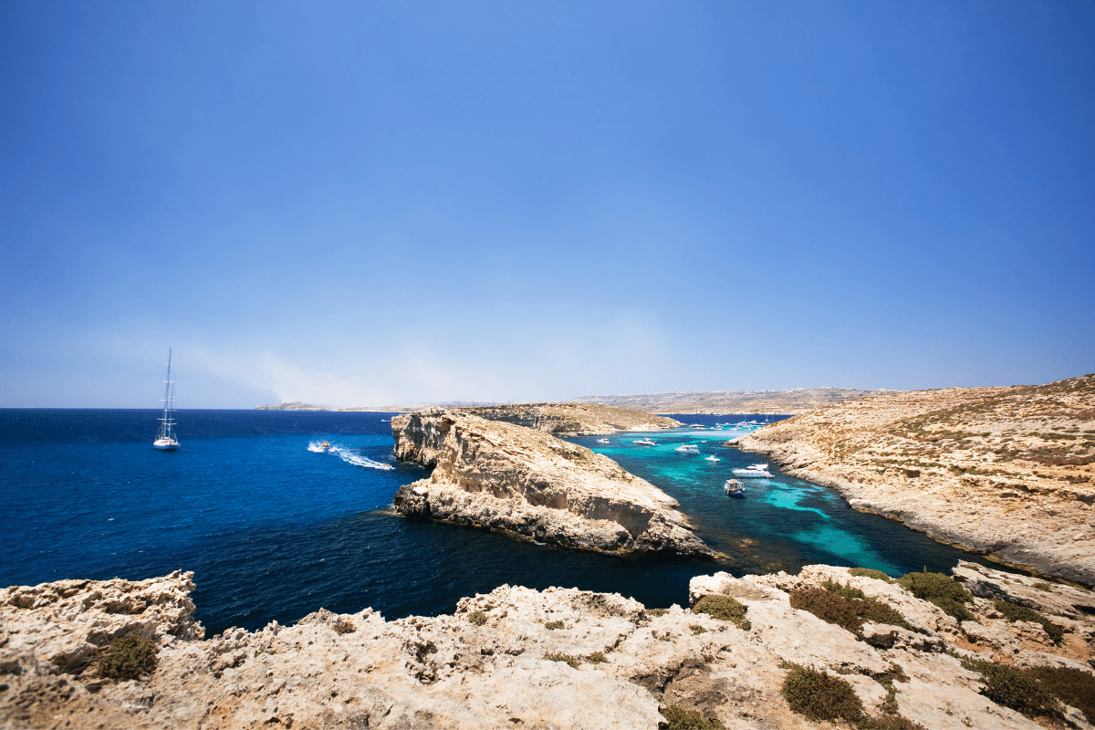 Seafront in Gozo