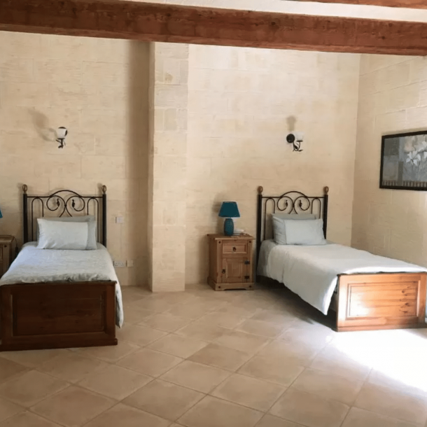 Twin Room with Courtyard