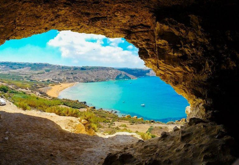 Ramla Bay Cave